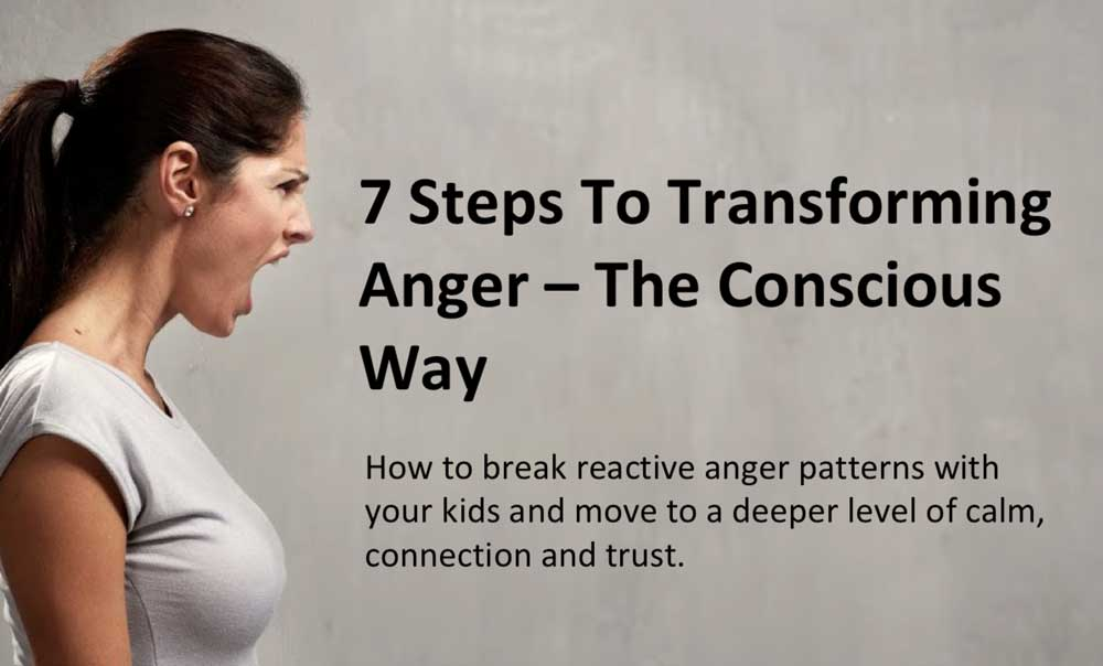 7 steps to transforming anger
