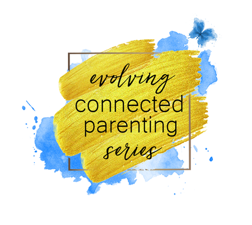 evolving connected parenting series logo
